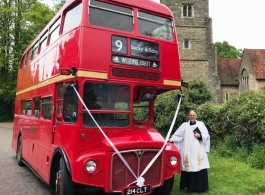 Red Routemaster Wedding Bus Hire In Rochester